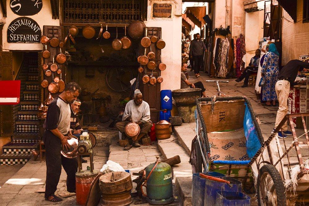 cosa fare Marocco medina Fes