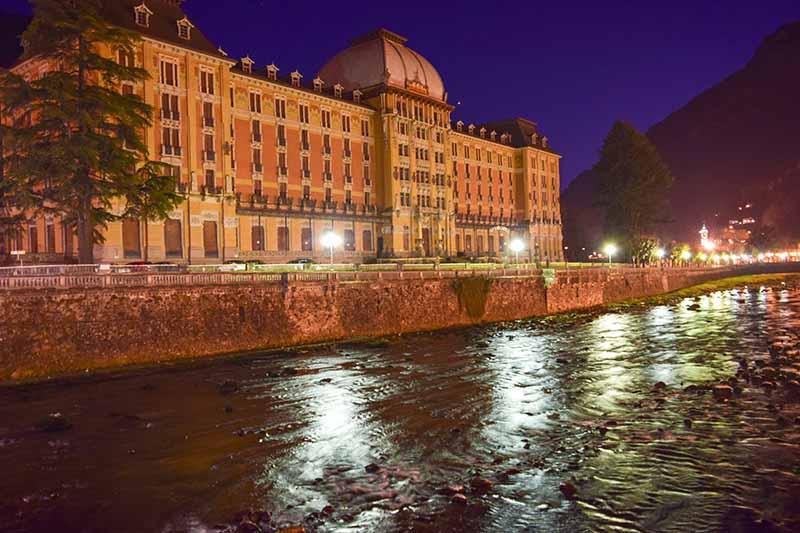 Val Brembana il Grand Hotel di San Pellegrino
