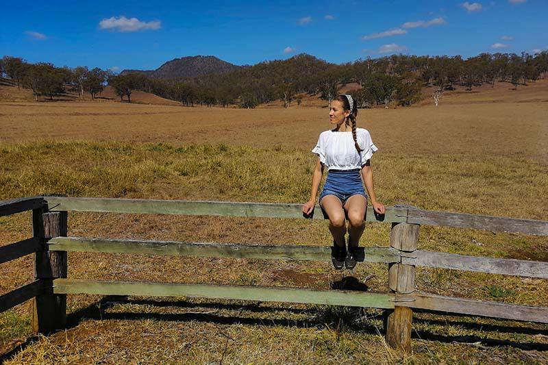 Scenic Rim un weekend in una farm