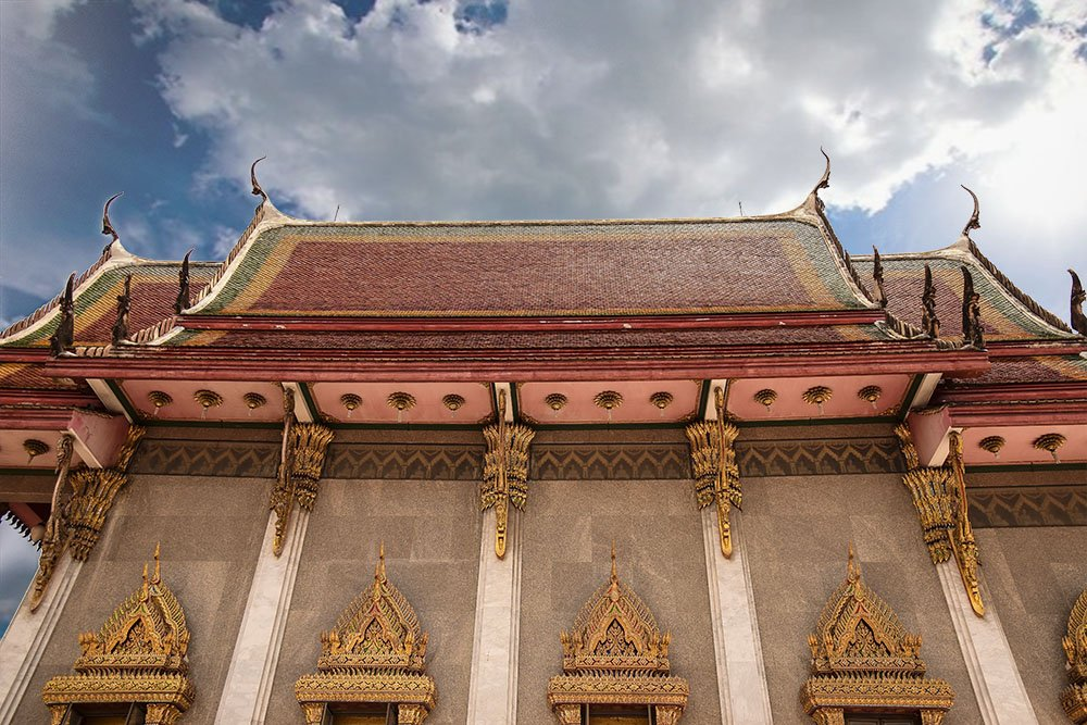 I templi thailandesi
