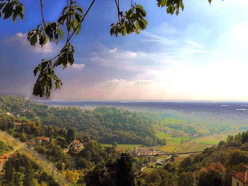 Panorama dai Colli di Bergamo