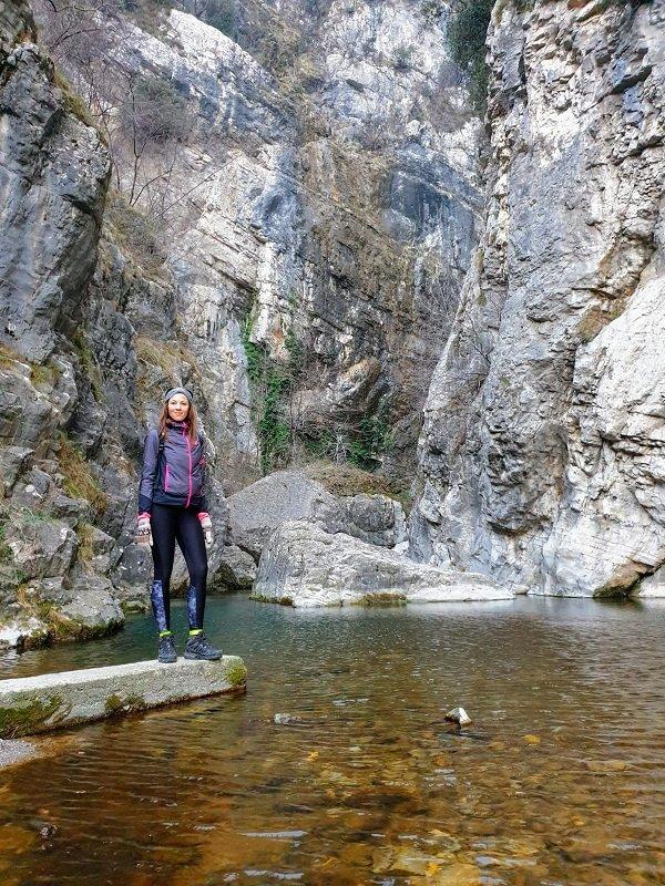 Il fiume San Michele a Campione del Garda