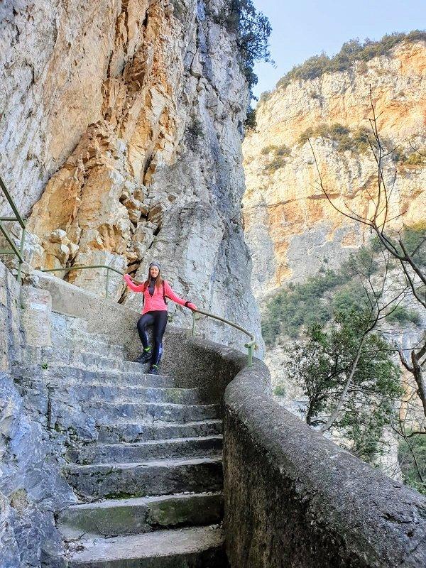 Sentiero ad anello dal Campione del Garda