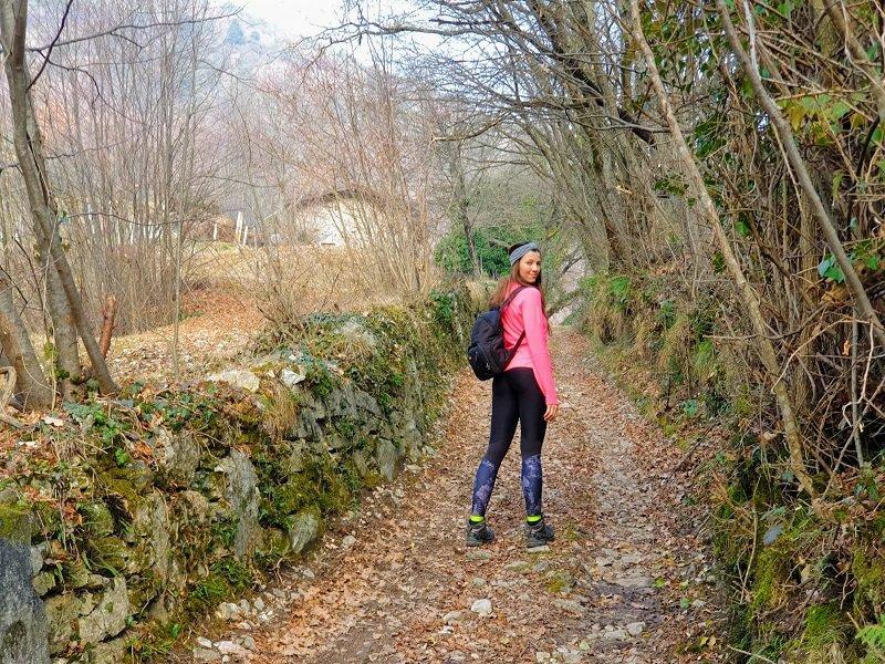 Sentiero da Campione del Garda a Pregasio