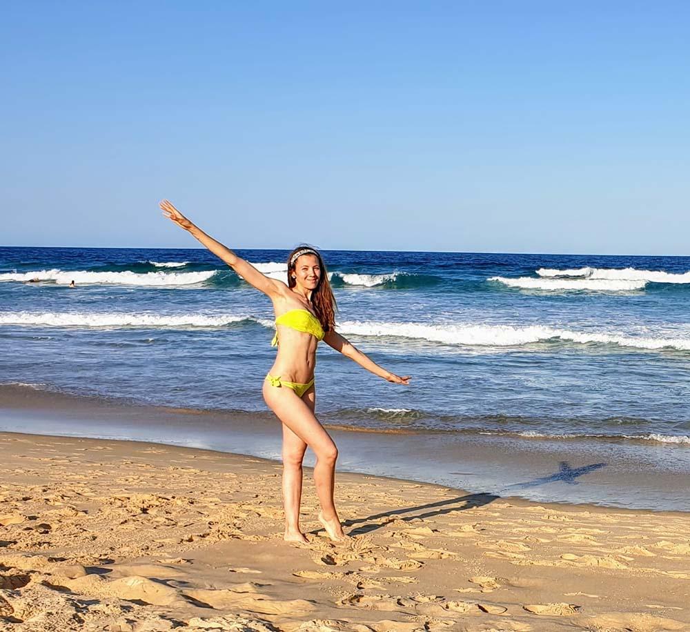 Un po' di mare a Sunshine Beach