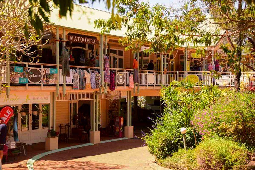 Le botteghe artigianali a Montville, Queensland