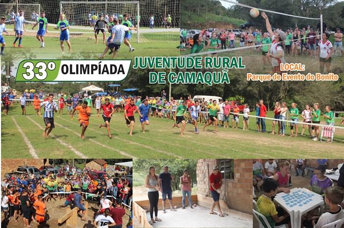 33º Olimpíada – Juventude Rural de Camaquã (Domingo)