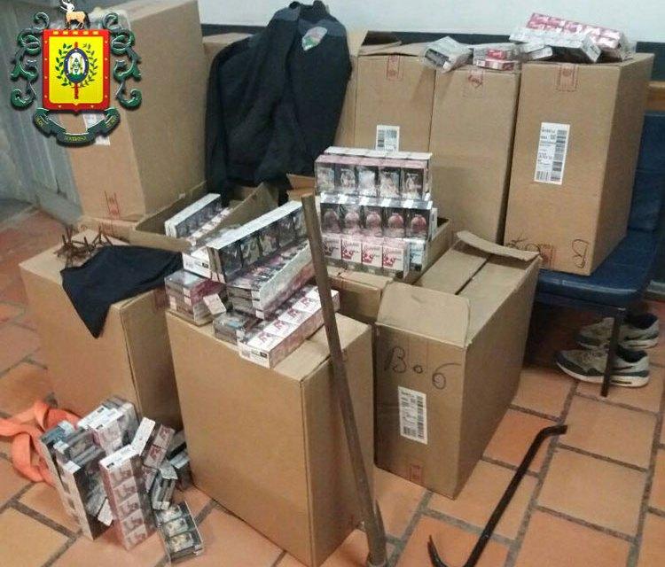 Brigada Militar recupera carga de cigarros roubada em Tapes