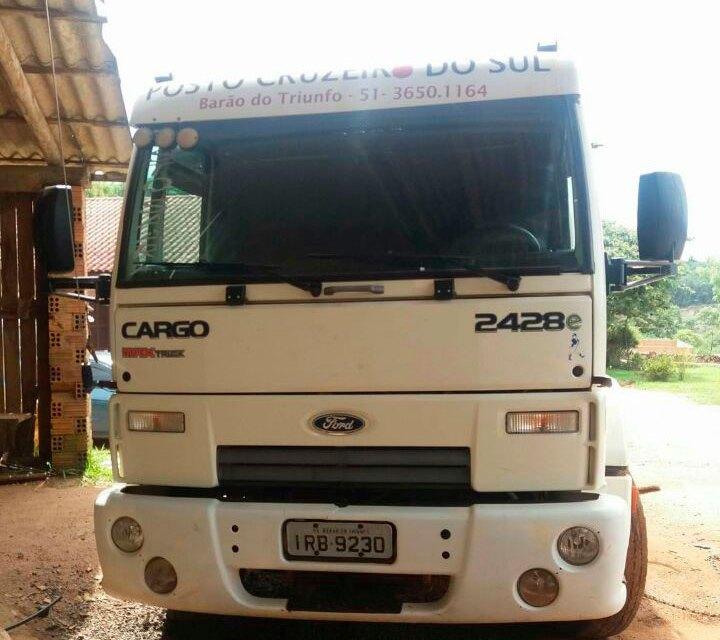 Baronense teve caminhão roubado em Canoas
