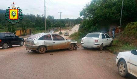 Motorista alcoolizado causa acidente e acaba preso em Cerro Grande do Sul