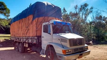 Caminhão de Sertão Santana com carga de fumo é roubado na BR-290