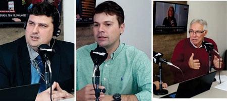 Pré candidatos a deputado estadual participam do programa Primeira Hora da Rádio Acústica FM