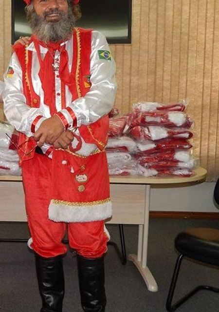 Papai Noel camaquense participará, no Rio, do 1º Encontro Nacional de Papais Noéis