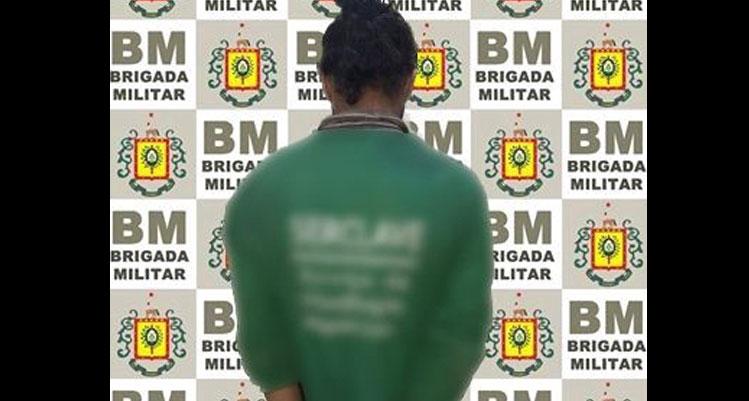 Brigada Militar aborda e prende foragido em Camaquã