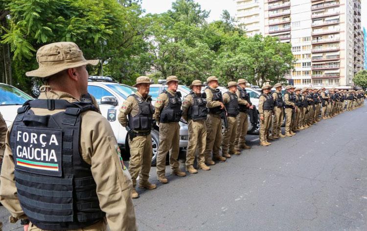 Decreto regulamentou a Força Gaúcha de Pronta Resposta