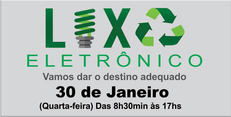 Cerro Grande do sul promove Mutirão de Coleta de Lixo Eletrônico