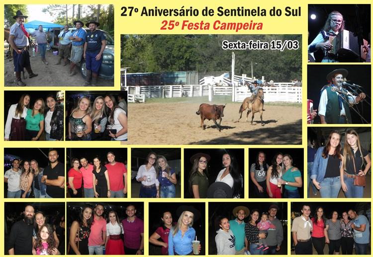 27º Aniversário de Sentinela do Sul e 25ª Festa Campeira