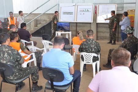DNIT apresenta os trabalhos da Gestão Ambiental para o Exército