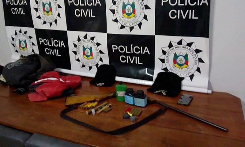 Ação conjunta da polícia prende dois homens em Dom Feliciano