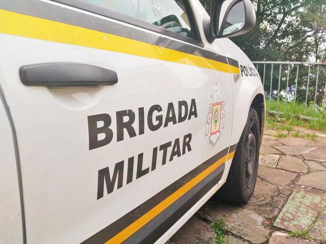 Brigada Militar de Dom Feliciano prende homem com mandado de prisão