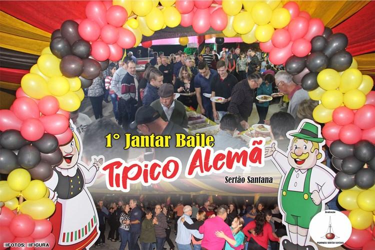 1° Jantar Baile Típico Alemã – Sertão Santana (vídeo)