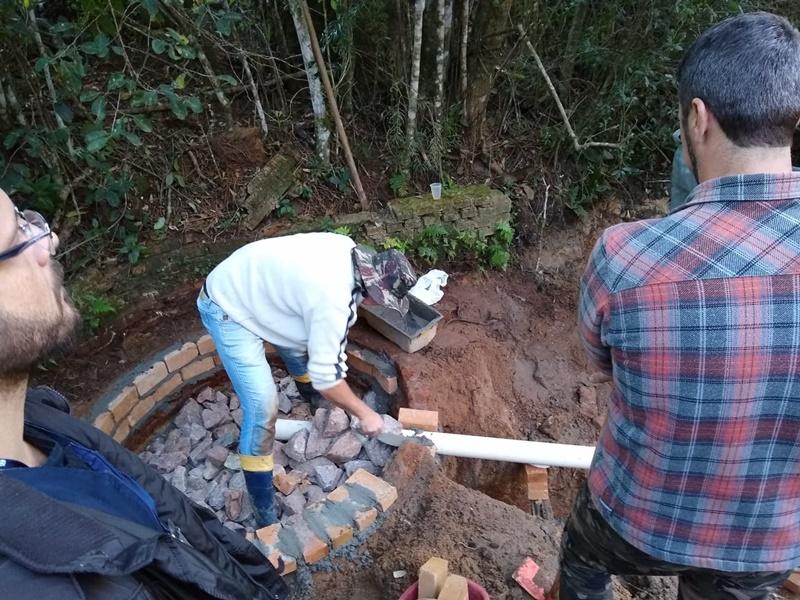 Camaquã sedia oficina de proteção de nascentes e beneficia escola do interior