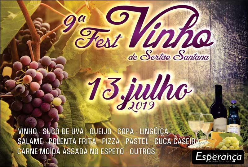 9º Fest Vinho de Sertão Santana (vídeo)