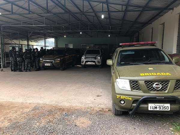 Mobilização policial segue intensa pela captura dos assaltantes em Dom Feliciano