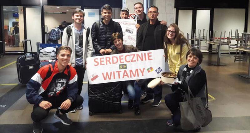 Jovens dom-felicianenses participam de projeto autoral do governo polonês.