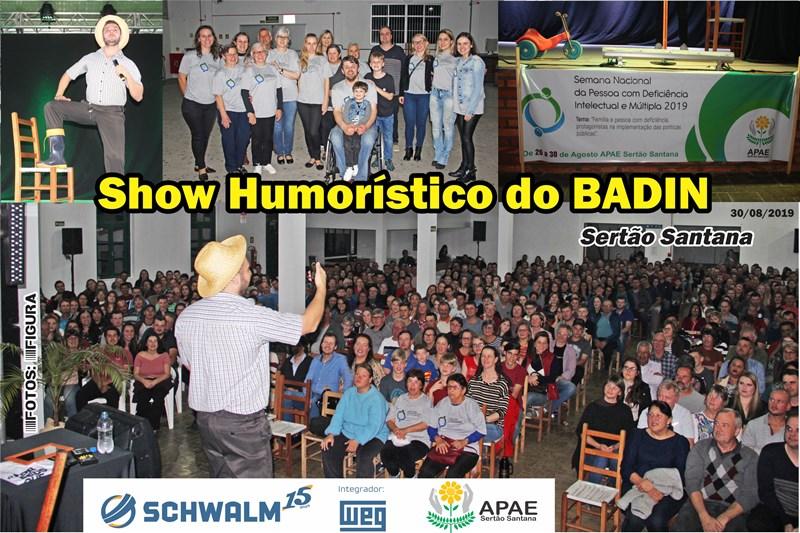 Show do Badin em Sertão Santana