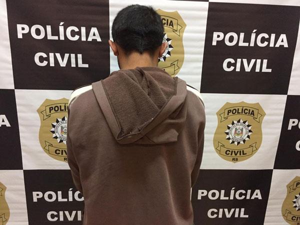 Polícia prende pela terceira vez acusado de furtos em Tapes