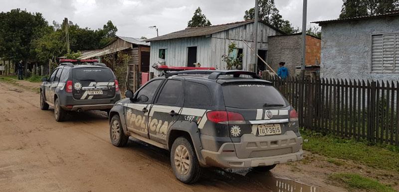 Delegacias de Polícia efetuam mandados de busca e apreensão em Camaquã