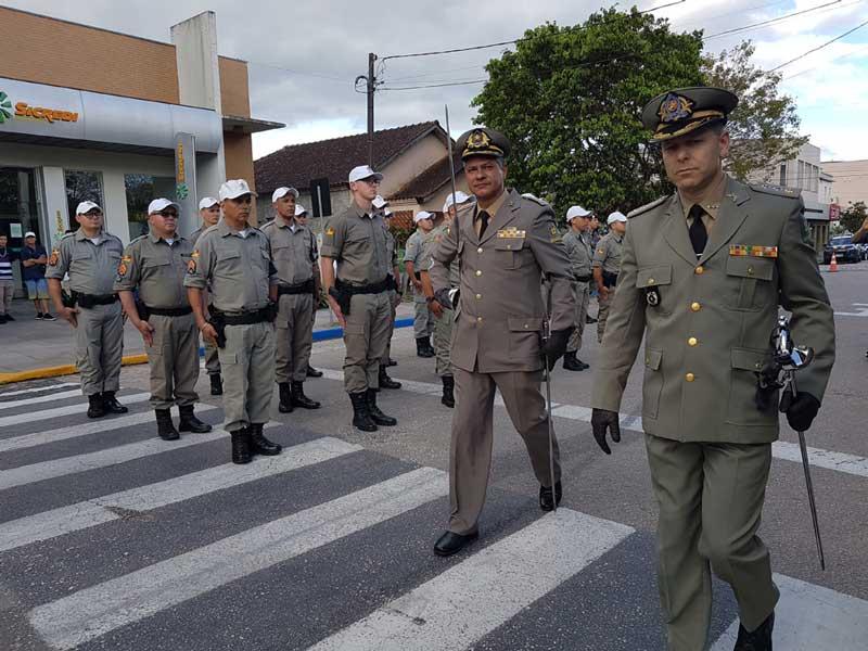 Troca de comando no 30º Batalhão da Polícia Militar