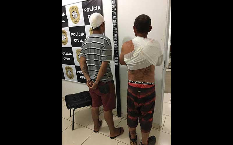 Moradores rendem ladrões em Cerro dos Camargos
