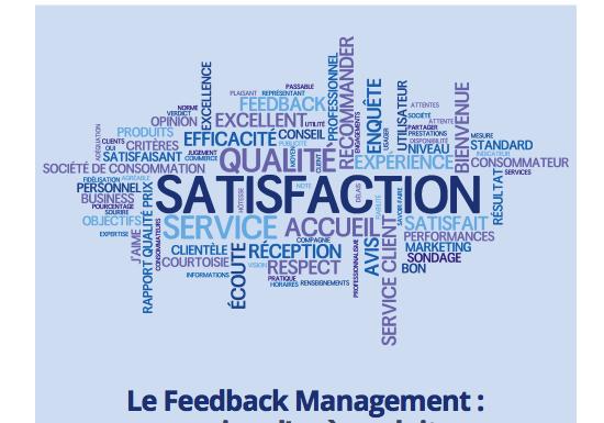 Contribution de Lidia Boutaghane au livre blanc sur le Customer Feedback Management par MediaTech Solutions.