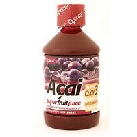ZUMO DE ACAI ENRIQUECIDO CON OXY3, 500 ml