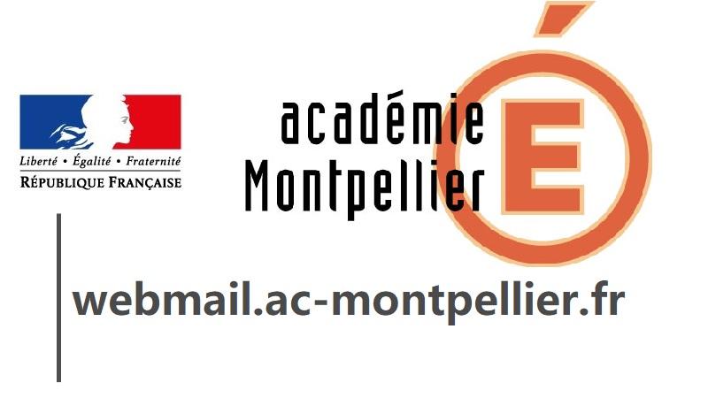 webmail ac Montpellier fr login messagerie académique
