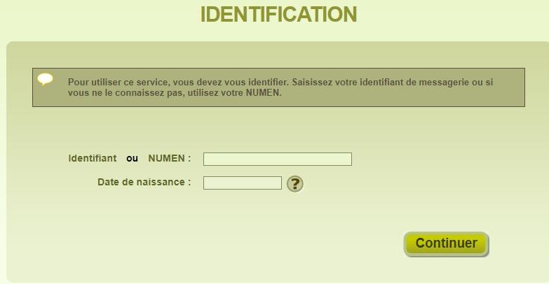 webmail ac versailles mot de passe oublié identification
