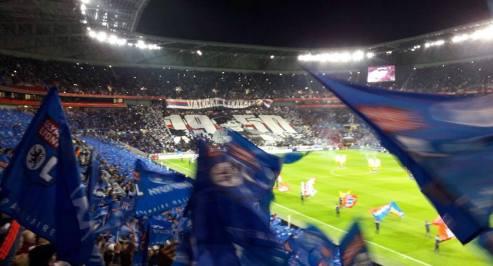 Lyon - stade des Lumières