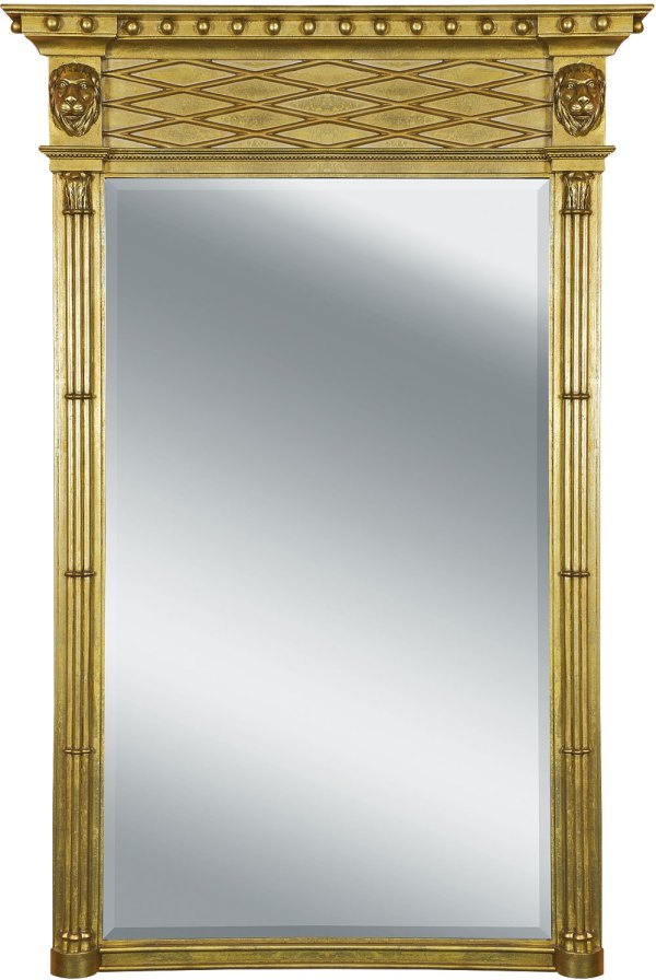 Regency style pier mirror, Wall mirrors from Brights of Nettlebed