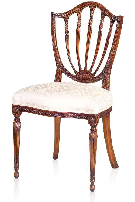 Hepplewhite style dining chair Dining chairs from Brights