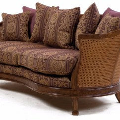 Damask Sofa Bed Catnapper Power Reclining Reviews Mauretania In Heather Fabric Sofas Stock