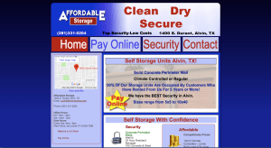 Affordable storage developed and maintained by Clients Website Company