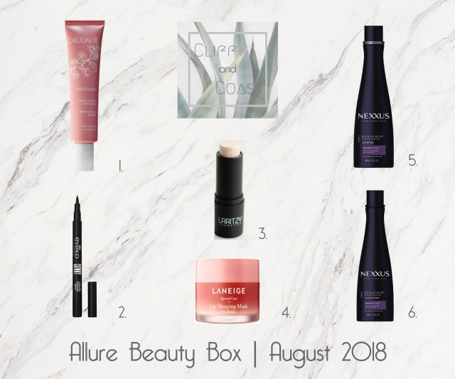 Allure Beauty Box August 2018