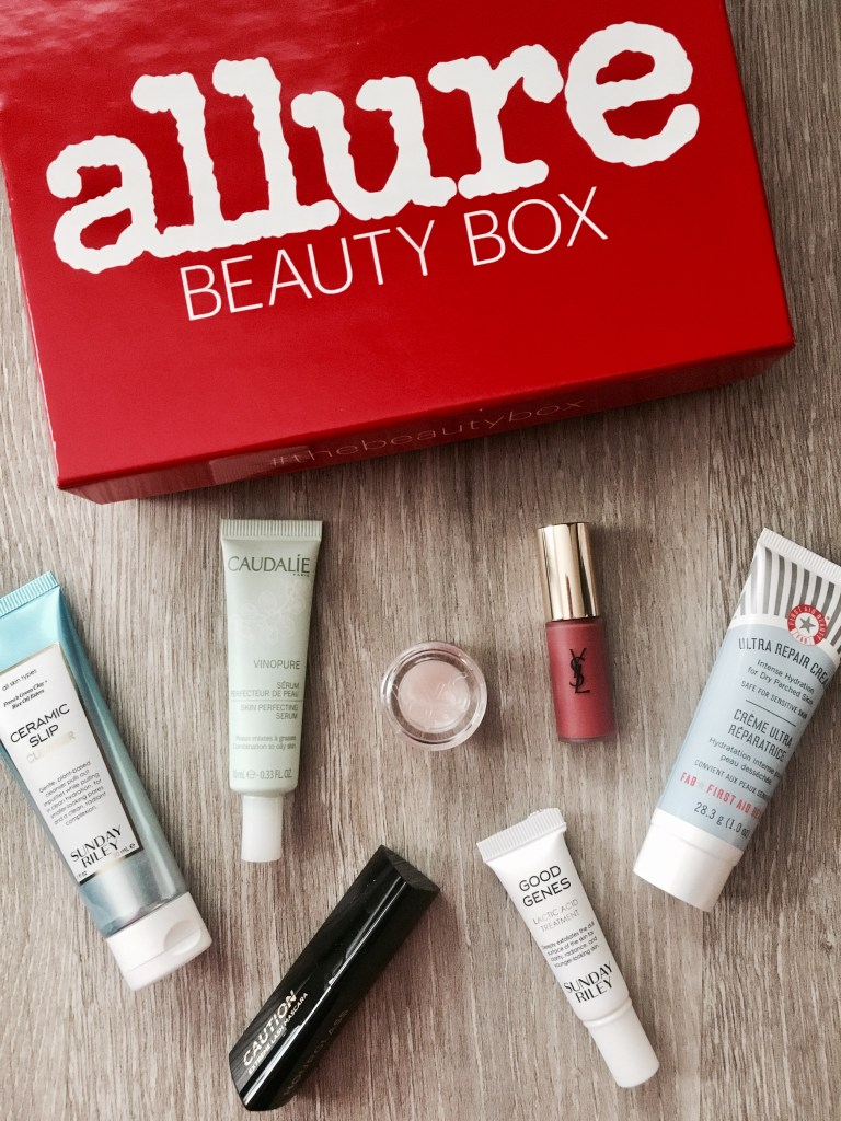 Allure Beauty Box October 2018