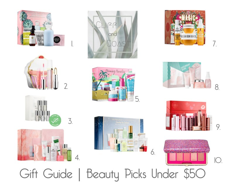 Beauty Gift Guide Under $50