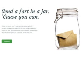 Send A Fart In A Jar