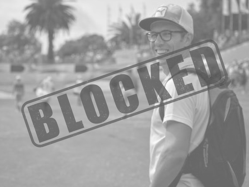#GCSPoldet - Ben blocked on twitter