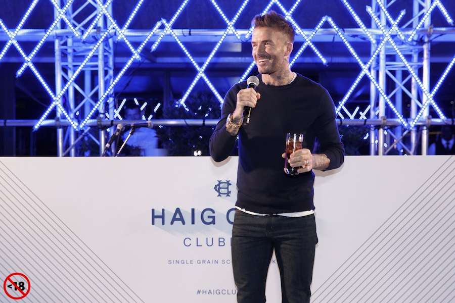 David Beckham - Haig Club Clubman