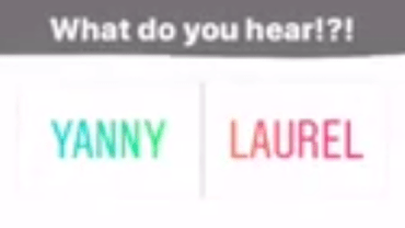 Yanny vs Laurel: What Word Do You Hear?